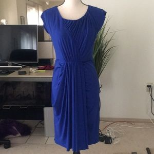 SUZY CHIN FOR MAGGY BOUTIQUE blue casual dress
